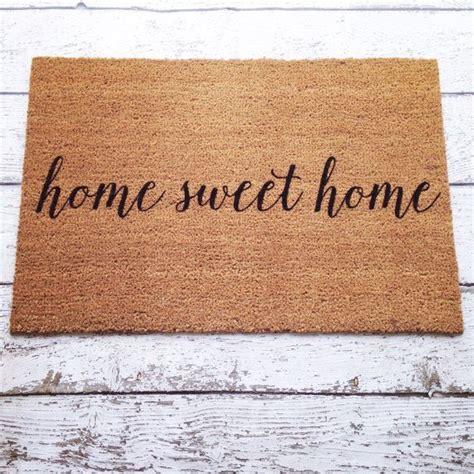 Front Door Welcome Mats by Best 25 Welcome Mats Ideas On Doormats Cool Doormats And Diy Design