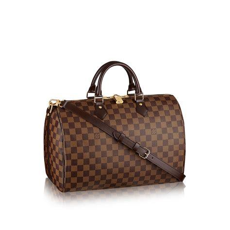 Louis Vuitton Speedy Bandou Damier Sz 25cm louis vuitton speedy bandouli 232 re 35 lg damier ebene handbags