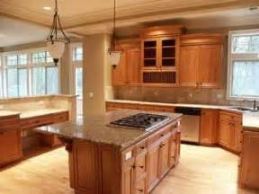 light wood floor with medium cabinets home is where the