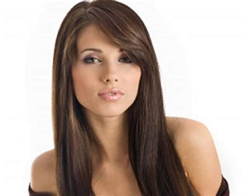 haircuts for long straight hair with side bangs how to choose hairstyles for thick straight hair long