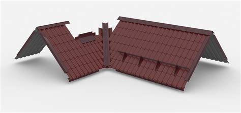 home design 3d roof roofing roof 3d model max dae lxo lxl cgtrader com