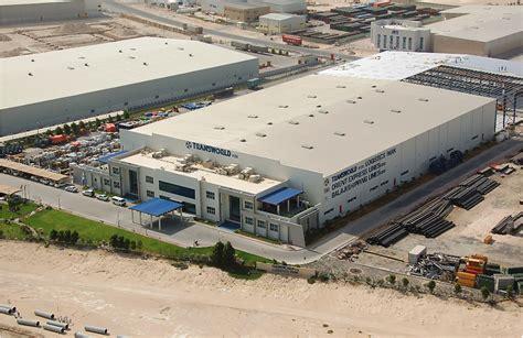design free zone dubai logistic center offices for transworld at jebel ali