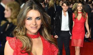 Elizabeth Hurley Faces Time Hollyscoop by Elizabeth Hurley Attends The Time Of Their Lives Premiere