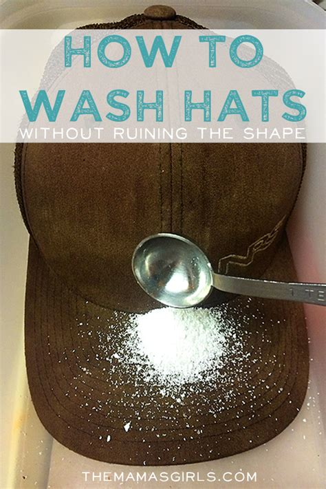 how to wash hats without jeopardizing the shape