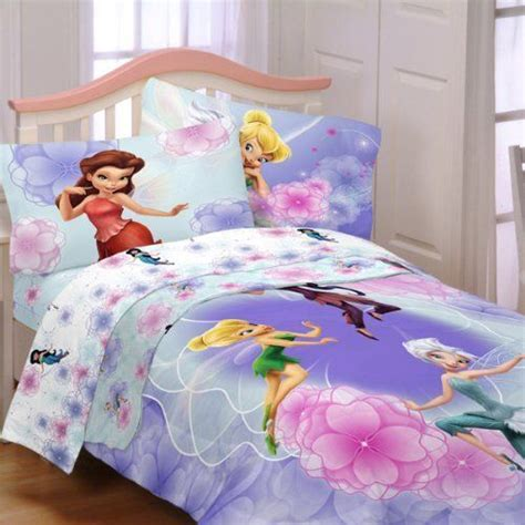 Disney S Tinkerbell Fairies Full Comforter Sheet Set Tinkerbell Bedding Set
