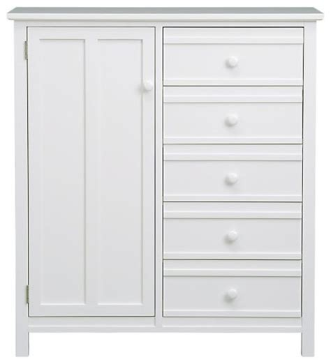 White Bedroom Armoires by Brighton White Chifforobe Dressers By Crate Barrel
