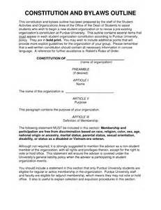 constitution and bylaws template doc 620395 constituting a constitution a sle set of