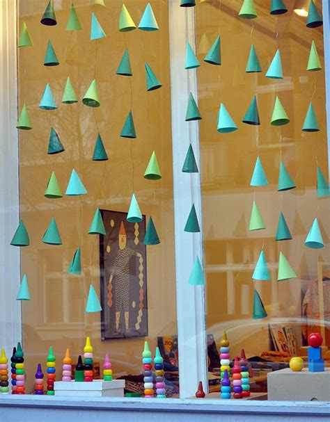 window decorations diy hanging window decorations that will brighten up your day