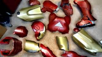 build iron man helmet suit minute summary