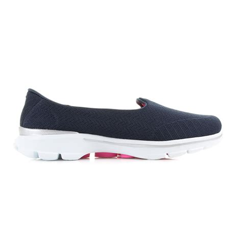Sepatu Skechers Go Walk 3 Navy Slip On Premium Import Size 37 41 womens skechers go walk 3 insight navy slip on comfort