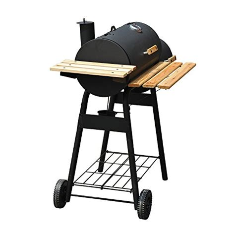 backyard grill charcoal grill outsunny backyard charcoal bbq grill and smoker combo w