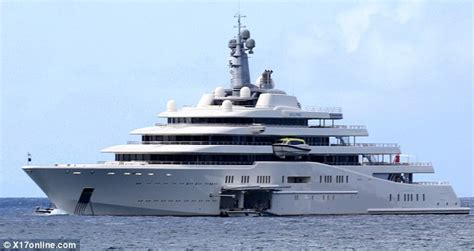 eclipse abramovich interni abramovich enjoys a caribbean getaway with his