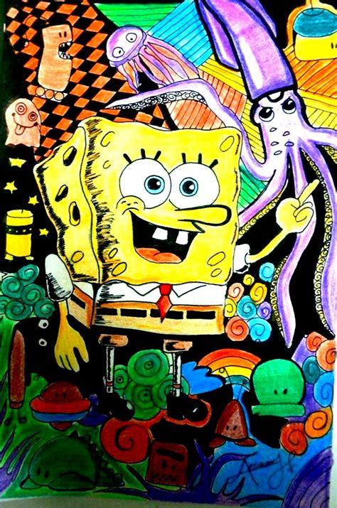 spongebob doodle doodle spongebob doodle by pozzap on deviantart