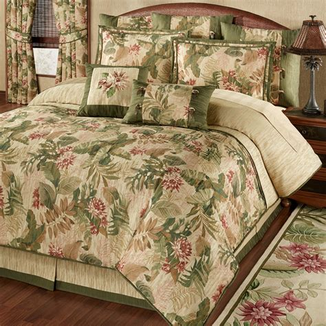 tropical comforters tropical haven comforter bedding