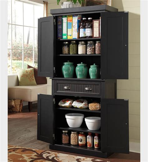 Black Kitchen Storage Cabinet Black Kitchen Storage Cabinet Decor Ideasdecor Ideas