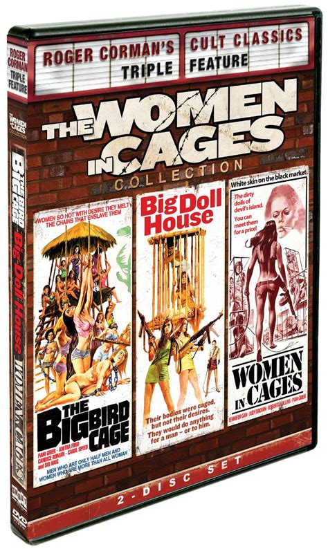 the big doll house trailer women in cages dvd blu ray collection big doll house women in cages the big bird