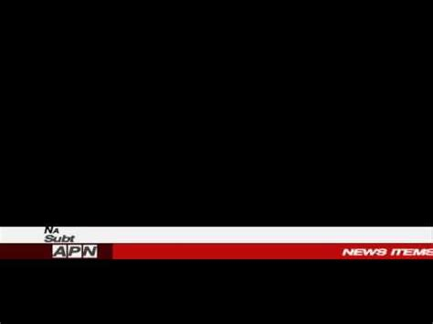 news banner template youtube