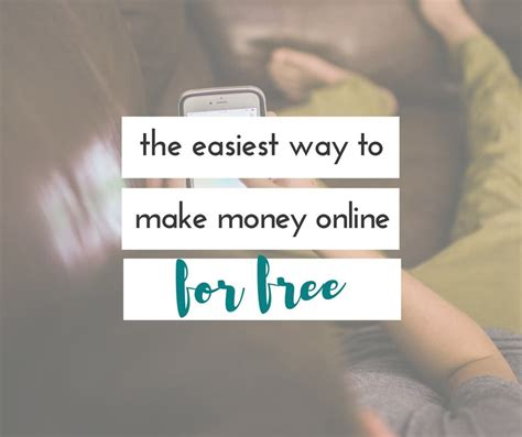 The Easiest Way To Make Money Online - the easiest way to make money online for free embrace the perfect mess