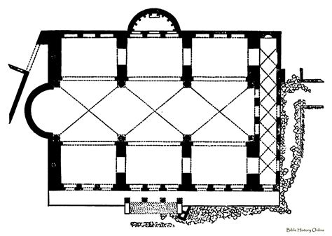 roman basilica floor plan title double transept basilica plan of hildesheim