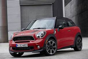 Mini Cooper Paceman S New Customisation Options For Mini Countryman And Paceman