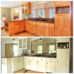 Can U Paint Kitchen Cabinets Refinishing Cabinets With Rust Oleum Cabinet Transformations