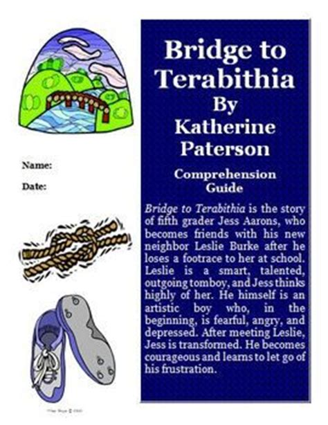 bridge to terabithia novel study guides for the teacher 114 best guided reading novel units grades 3 4 5 images