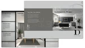 interior design layout half fold brochure template for interior design order
