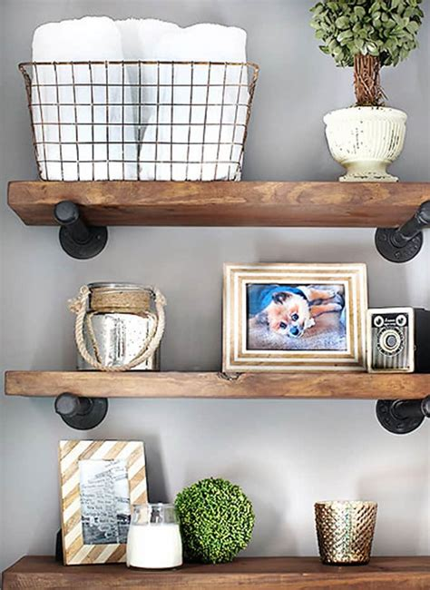 Carved Floating Rak Ukir Gantung 16 easy and stylish diy floating shelves wall shelves