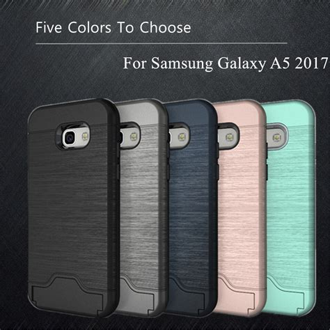 Army Samsung Galaxy A5 2017 A520 Soft Cover Casing Hp Armor wolfrule sfor phone cover samsung galaxy a5 2017 soft tpu pc for samsung galaxy a5