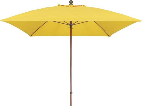 Eckiger Sonnenschirm by Commercial Umbrella 6ft Square Fiberglass Rib Aluminum