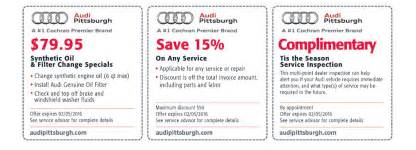 Audi Coupons Audi Pittsburgh New Audi Dealership In Pittsburgh Pa 15216