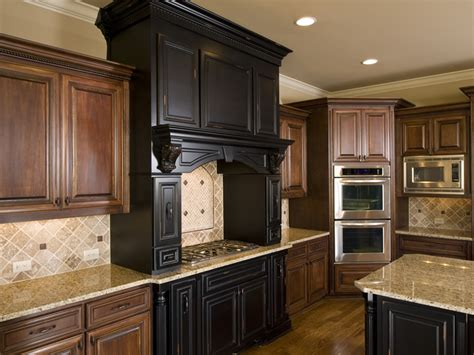 mixing old world style luxury kitchen ideas counters backsplash cabinets
