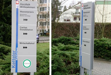 Bauschild Offenbach by Stele Ketteler Krankenhaus Offenbach Fontfront