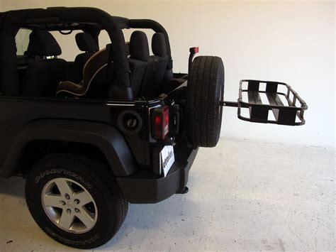jeep comanche spare tire surco spare tire mounted cargo basket 19 quot long x 43