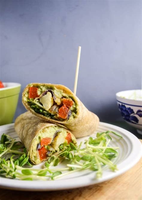 healthy wrap recipes clean eating wraps