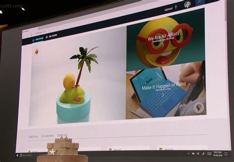 paint 3d windows 10 s new paint 3d app drags physical objects into