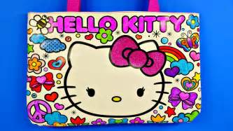 kitty sparkling gemstone coloring tote bag design disney cars toy club