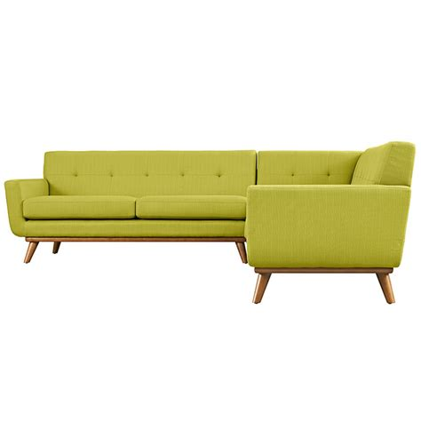 L Shaped Sectional Sofa Engage L Shaped Sectional Sofa In Wheat East End Imports Modern Manhattan