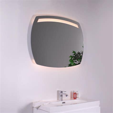 miroir ovale salle de bains 233 clairant led et syst 232 me antibu 233 e