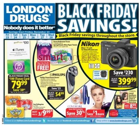 London Drugs Canada Black Friday 2012 Sale Flyer   Canadian Freebies, Coupons, Deals, Bargains