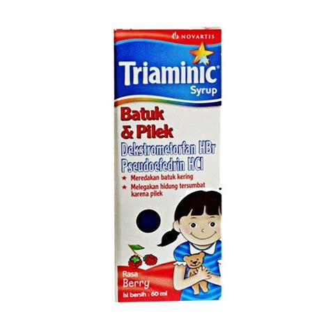 Obat Triaminic jual triaminic rasa berry obat batuk pilek 60 ml