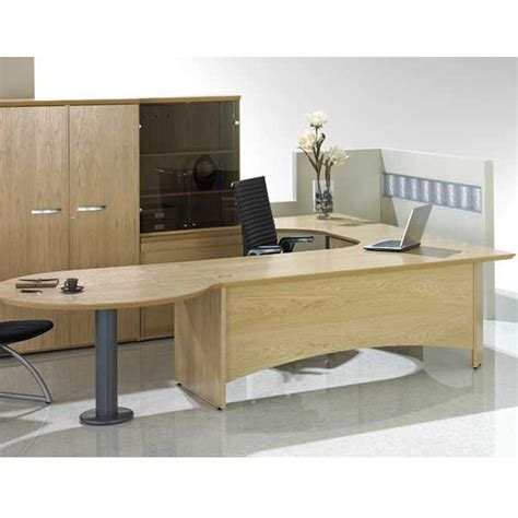 desk table executive meeting end desk desk with table attached