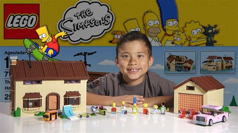 The Simpsons House Floor Plan the simpsons house lego simpsons set 71006 time lapse