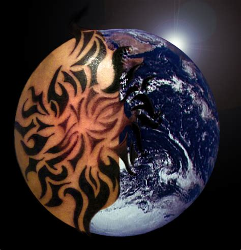 planet earth tattoo designs planet earth pics about space