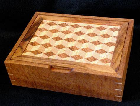 Handmade Jewelry Box Plans - marquetry jewelry box finewoodworking