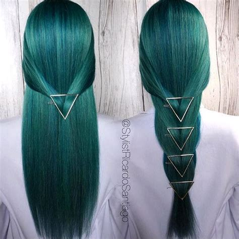 emerald hair color 25 best ideas about emerald hair on emerald