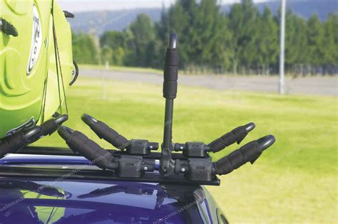 Kayak Roof Rack For Two by Mont Blanc Galactica Kayak Carrier For 1 Or 2 Kayaks For