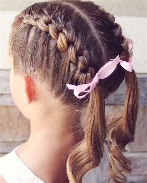 easy hairstyles for 52 yo female profession 25 best ideas about little girl braids on pinterest