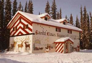 Santa Claus In House by Santa Claus House Experience Pole Alaska