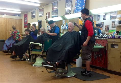 the men s room barbershop